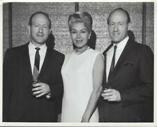 Lana Turner w/ Levin twins 8x10 Black & white glossy photo