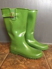Sperry Top-Sider Waterproof Rain Boots Womens Size 10 Galoshes Rubber Hunter