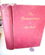 THE FOUNTAINHEAD,1943,Ayn Rand,1st Edition