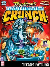 SDCC 2017 TRANSFORMERS TITAN RETURN cereal POSTER 18X24 FRONT AND BACK PRINTCO