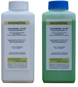 Wagnersil 20 NF Premium Dubliersilikon SilikonKautschuk NEU grün  1 kg-2kg