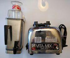 Vintage Vitamix 3600 Plus Blender Stainless Juicer Mixer Action Dome Spigot