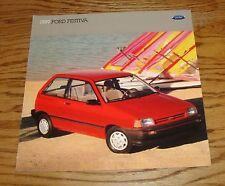 Original 1989 Ford Festiva Sales Brochure 89
