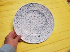 "Lenox Swedish Lodge Swedish Trellis Accent Luncheon Plate 9 1/2"" Diameter"