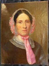 GEORG SCHIRMER; 1816 - 1880; KASSEL; BILDNIS EINER FRAU; BIEDERMEIER; UM 1850