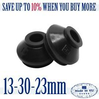 2 X High Quality Rubber 13 30 23 Tie Rod End and Ball Joint Dust Boots Cover