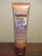 (1) Coppertone Gradual Tan FACES Sunless Tanning Moisturizing Lotion 2.5oz