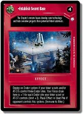 Star Wars CCG Endor DS Rare Establish Secret Base