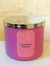 Bath & Body Works Raspberry Mimosa Candle 3-wick Scented Pick Quantity New