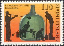 Finland 1981 Glass Making/Bottle/Industry/Commerce/Business/History 1v (n19580q)