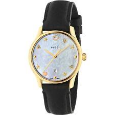 Reloj De Cuarzo Gucci YA126589 Mujer G-Timeless madre PF Perla