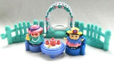 Fisher Price Little People Garden Tea Party Swing Maggie Sonia