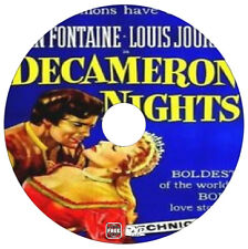 Decameron Nights - Joan Fontaine, Louis Jourdan - Drama Adventure - 1953 - DVD