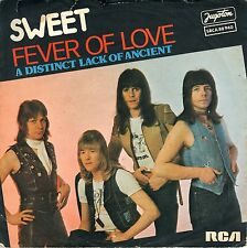 "7"" SWEET – Fever of Love // Yugoslavia 1977"