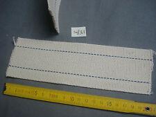 1 mèche plate lampe pétrole 64 mm par 200 mm (réf 33) calibre 14'''