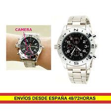 Reloj de pulsera espia con Camara oculta y grabador 4GB