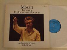 MOZART - Sinfonien Es-dur KV 543 - A-dur KV 201 - Staatskap. Dresden Colin Davis