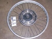 89 cr250 cr125 cr 250 125 front wheel rim assembly complete spokes 1989 1988