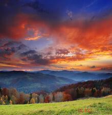 10X10FT Mountain Scenery Vinyl Studio Backdrop Photography Prop Background DZ462