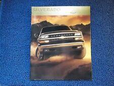 2000 Chevorlet Silverado Brochure