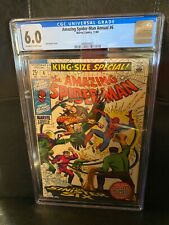 Amazing Spider-man Annual #6, CGC 6.0 FN, 1st Appearance Sinister Six Reprint