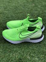 Nike Epic Phantom React Flyknit Shoes Electric Green CJ0173-300 Women's Sz 8