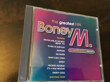 BONEY M - GREATEST HITS - CD ALBUM - RIVERS OF BABYLON / SUNNY / MA BAKER +