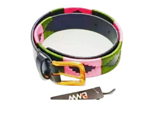 Handmode Polo Belt Argentinian Gaucho Brown Leather Belt Houndeetah