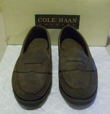 New Cole-Haan Camp Penny 7.5 M stone nubuck leather (2998)