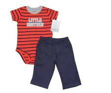 "Carter's 2-pc Bodysuit & Pants Set, ""Little Brother"" (GBC-178), Size: 18 months"