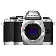 Olympus OM-D E-M10 17.2MP DSLR Camera Body Silver V207020SU000 FREE SHIPPING