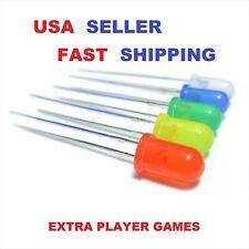 10 X 5mm Pick Color Led Diode 20 32v Usa