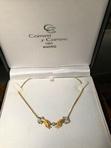 Carrera y Carrera Madrid, Collier 750 Gold, Diamant / kleine Brillanten mit Echt