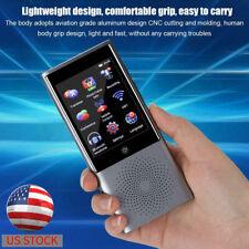 Portable Ai Smart Translator Touch Screen Business Travel Translator 45languages