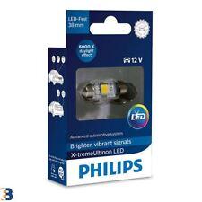 Philips Xtreme Ultinon Festoon C5W LED Bombilla interior coche 6000K 38mm Single