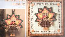 THANKSGIVING GOBBLERS TURKEY PLASTIC CANVAS PATTERN INSTRUCTIONS