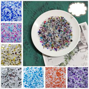 100g Crystal Glass Mirror Mosaic Tiles Irregular Mosaic Stone Children Puzzle