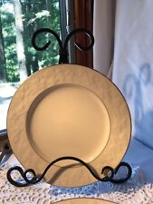 "NORITAKE IVORY CHINA HALLS OF IVY 6 8.5"" PLATES SET OF 9"