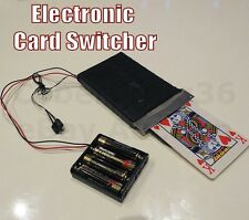 ELECTRONIC PLAYING CARD CHANGER GHOST HAND A SWITCHER MAGIC TRICK PROP SEE VIDEO