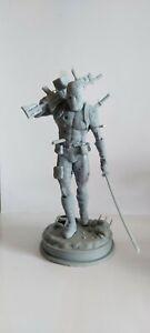 Deadpool 3D Resin printed Figure 18cm