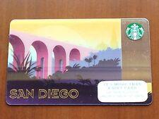 STARBUCKS SAN DIEGO GOLD BRIDGE CALIFORNIA GIFT CARD, COFFEE