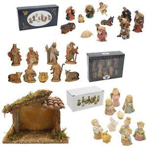 Christmas Decoration - Nativity Figurine Set - Choose Design