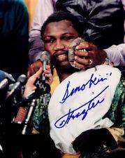 Smokin Joe Frazier Boxing Champion SIGNED 8x10 Photo COA!