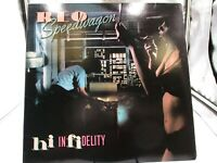 REO Speedwagon Hi Infidelity- Epic FE 36844 Record LP VG+ cover VG+