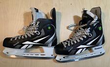 Senior Adult Reebok 11K Pump 9.5E Hockey Ice Skates Pre-Owned