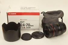 Canon EF 24-70mm f/2.8 L USM Zoom Lens Boxed