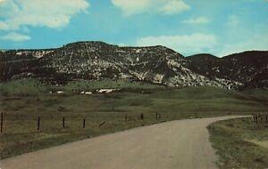 Postcard Casper Mountain Drive Casper Wyoming