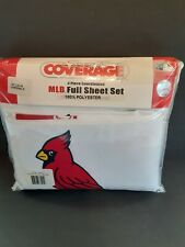 NIP Sealed Full Sheet Set St. Louis Cardinals MLB Sports Coverage Bedding