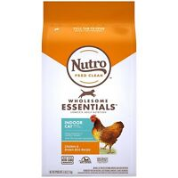 NUTRO WHOLESOME ESSENTIALS Natural Dry Cat Food 5 lb. Bag