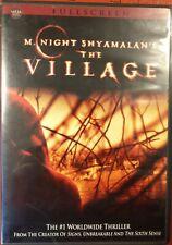 M Night Shyamalan's The Village (DVD, FS) Joaquin Phoenix, Sigourney Weaver